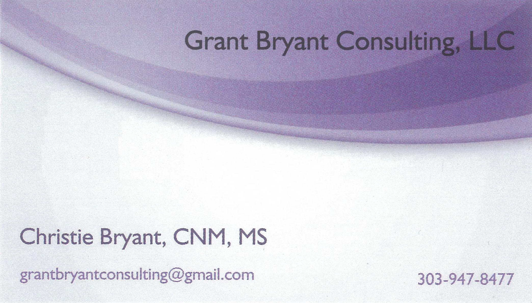 Grant Bryant Consulting, LLC
